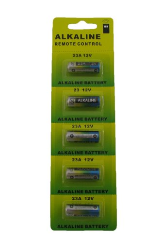 Powertron 23A 12V Alkaline Battery (5 Pack) (Battery 23a 12v compare prices)