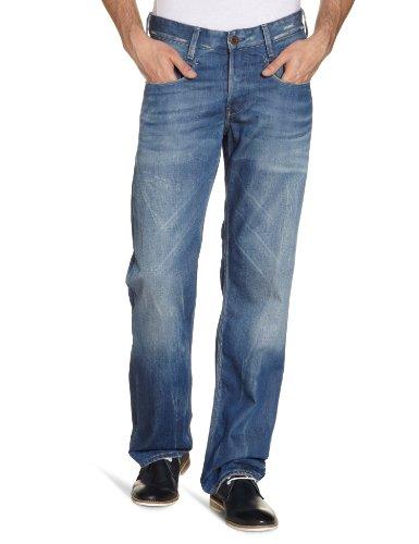 G-Star Men's New Radar Low Loose - 50614 Loose-Fit Jeans Blue (Medium Aged 71) 31/36