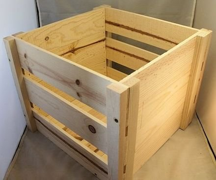 Delicieux LP Record Storage Crate