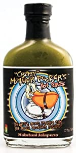 Crazy Mother Puckers Habitual Jalapeno Hot Sauce from Crazy Mother Puckers