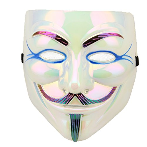 Melody V for Vendetta Mask - Plating Reflective color New