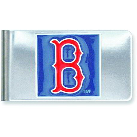 Stainless Steel MLB Boston Red Sox Money Clip