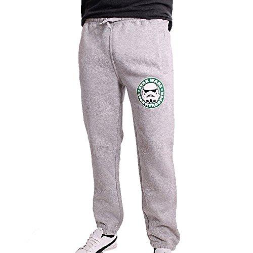 Star Wars - Storm Trooper pantaloni da jogging da uomo pantaloni da tuta pantaloni grigio