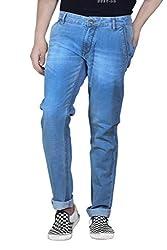 JCTex Men's blue classicslim fit Jeans - Fashion - popular- comfort - skinny - designer discount brand style best jean denim stretchable 32