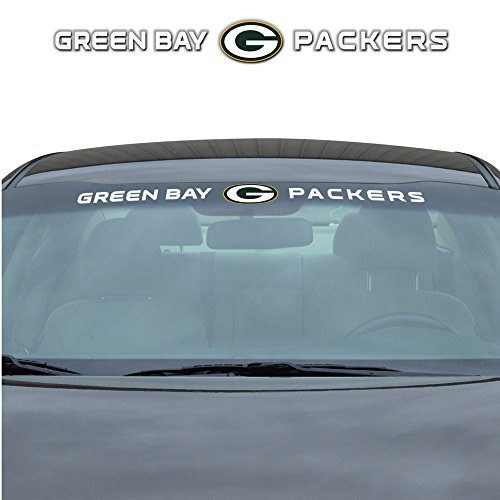 Green Bay Packers NFL Sports Team Logo Car Truck SUV Front Windshield Window Graphic Decal by LA Auto Gear