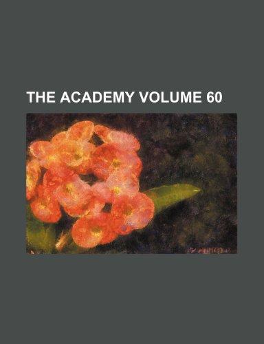 The Academy Volume 60