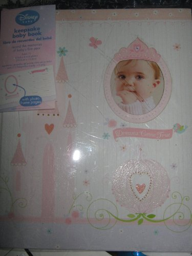 "Disney Princess Keepsake Baby's First Year Memory Book for Baby Girl ""Dreams Come True"" - 1"