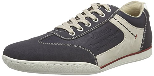 Rieker 19112 Sneakers-Men, Herren Sneakers, Blau (navy/atlantis/chalk/weiss/14), 44 EU thumbnail