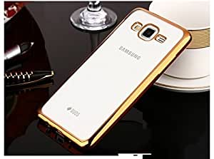 Yes2Good 0.3MM Ultra Thin Soft Silicone TPU Silicone Flexible Transparent Back Case Cover for Samsung Galaxy J7