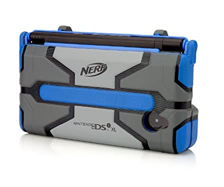 DSiXL Nerf Armor - Blue/Dark Grey
