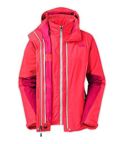 Women'S The North Face Cinnabar Triclimate Jacket Rambutan Pink/Rambutan Pink/Cerise Pink Size X-Large