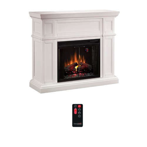ClassicFlame Artesian Electric Fireplace Mantel in White - 28WM426-T401 image B004VYMQKI.jpg