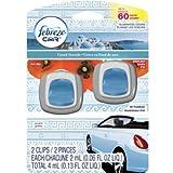 Febreze Car Vent Greek Seaside Air Freshener Twin Pack