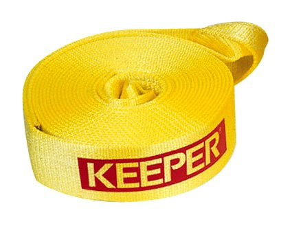 "Best Deals! Keeper 2932 3""x20' Vehicle Recovery Strap, 11,000 lbs. Max Vehicle Wt. (22,500 lbs...."