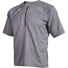 Fox Men's Baseline Short Sleeve Jersey Grey Large
