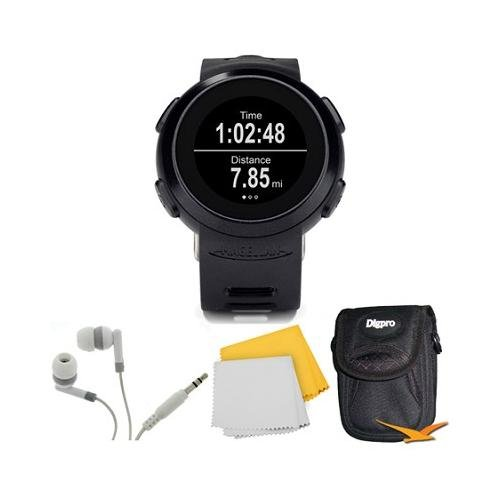Echo Smart Running Watch Bundle Includes: The Echo Smart Running Watch (Black), Carrying Case, Audio Earbuds, And Microfiber Cloth
