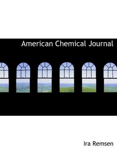 American Chemical Journal