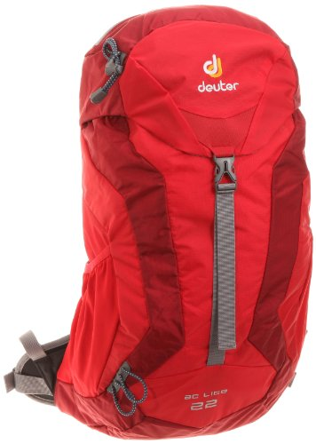 DEUTER AC Lite 22 Backpack, Red/Grey