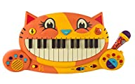 B. Meowsic Keyboard by B. Toys – Teac…