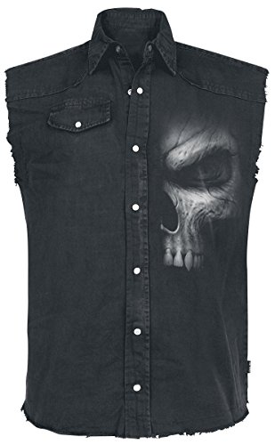 Spiral Shadow Master Camicia senza maniche nero XL