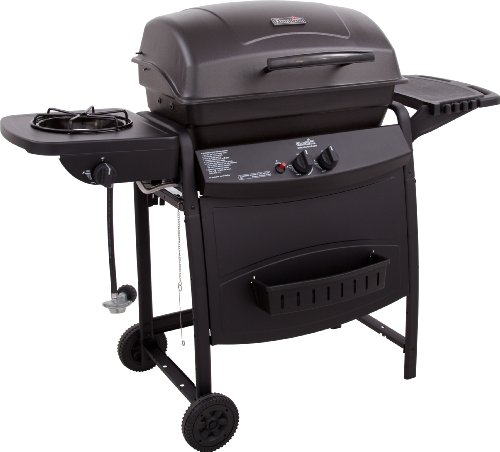 Char-Broil AT360 530-Square-Inch 35,000-BTU 2-Burner Gas Grill with 8,000-BTU Side Burner