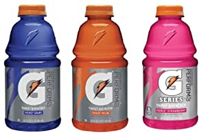 Gatorade Fierce Variety Pack - Grape, Melon & Strawberry 12/32oz