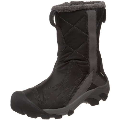 Keen Women's Betty Boot Waterproof Winter Boot,Black,8 M US