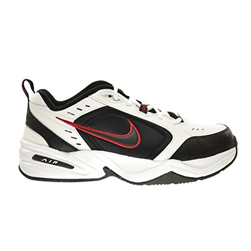 Nike Air Monarch IV (4E) Extra-Wide Men's Shoes White/Black-Varsity Red 416355-101 (10.5 4E US)