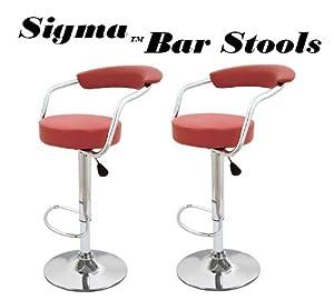Sigma modern adjustable bar stools bright - Bright colored bar stools ...