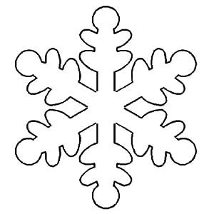 Free Snowflake Quilting Stencil : Amazon.com: Quilting Creations Snowflake Quilt Stencil, 5x5-1/2