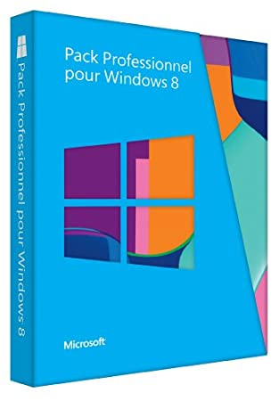 Pack Professionnel pour Windows 8 - mise à niveau de Windows 8 vers Windows 8 Professionnel