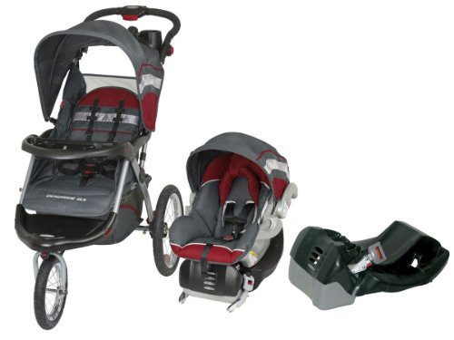Baby Trend Expedition Elx Travel System With 2 Car Seat Bases, Baltic