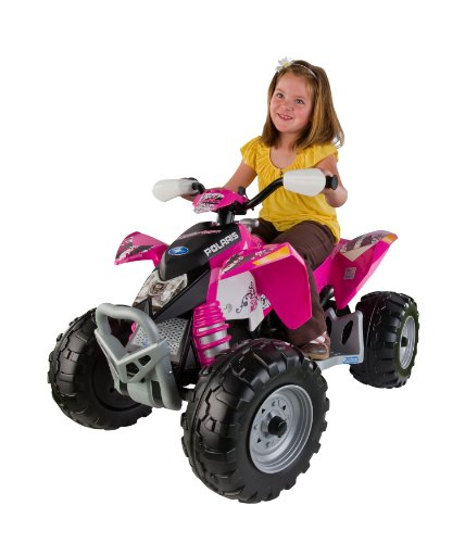 Peg Perego Polaris Outlaw - Pink back-886339