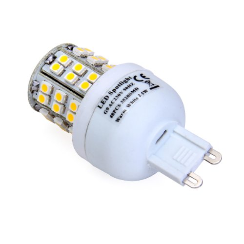 G9 48 Smd Warm White Led Spotlight Bulb Light Lamp 230V