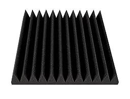 Ultimate Acoustics UA-WPW-12 Wedge-Style Wall Panel 12\