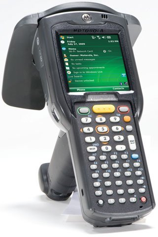 Motorola Mc3190 Rfid Unit - Lan 802.11A/B/G / Bluetooth / Rfid Reading / 2D Imager / Qvga Display / 256Mb Ram/1Gb Flash / 48 Key Alphanumeric P/N: Mc319Z-Gi4H24E0W