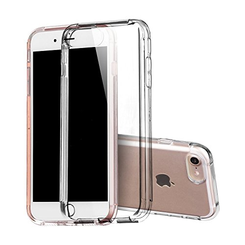 iPhone7Case,CoverySoftTPUSlimFitProtectiveCrystalClearCaseShock-AbsorptionTransparentBackCoverforiPhone7--4.7inch/ThickClear (Warranty Exchange Return compare prices)