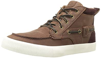 Polo Ralph Lauren Men's Tristan Fashion Sneaker,Dark Brown,7.5 D US