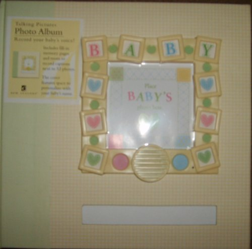 Baby Photo Album Record-A-Message