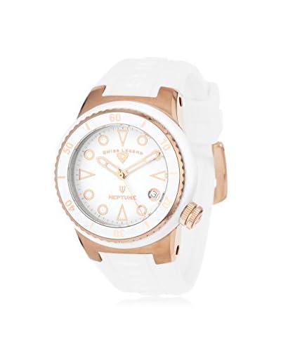 Swiss Legend Women's 11840D-RG-02-WHT Neptune White Silicone Watch