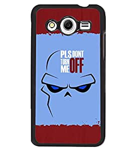 Fuson 2D Printed Quotes Designer back case cover for Samsung Galaxy Core 2 - D4283