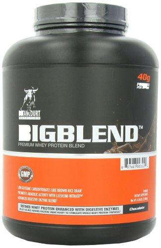 Betancourt Nutrition Big Blend Whey Protein Blend, Chocolate, 4.36 Pound