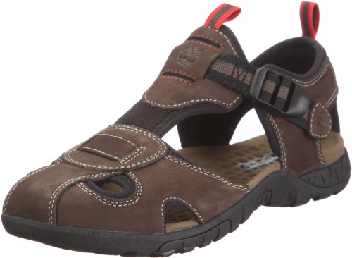 Timberland Men's City Adventure Sport Brown Back Strap Sandal 66106 10.5 UK