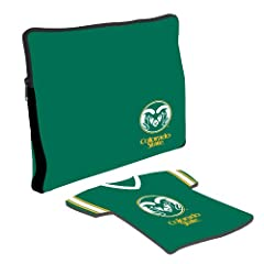 Buy Colorado State Rams Laptop Jersey and Mouse Pad Set by Kolder, Inc.
