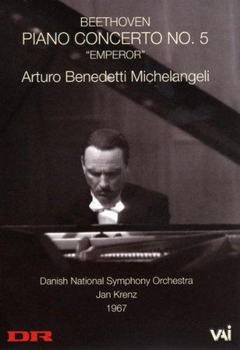 Michelangeli Plays Beethoven's Emperor Concerto [DVD] [Import]