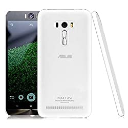 Heartly Imak Crystal Clear Hot Transparent Flip Thin Hard Bumper Best Back Case Cover For Asus Zenfone Selfie ZD551KL Dual Sim