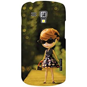 Design Worlds Samsung Galaxy S Duos 7562 Back Cover - Doll Designer Case and Covers