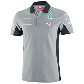 Puma mercedes amg petronas f1 2014 men 39 s team polo shirt for Mercedes benz f1 shop