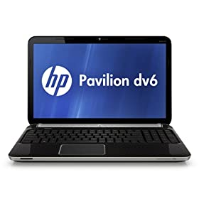 HP Pavilion DV6-6116NR 15.6-Inch Entertainment Laptop