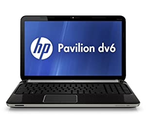 HP Pavilion dv6-6110us 15.6-Inch Entertainment Notebook PC (Black)